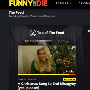 Funny or die carrie daniel top of feed pic